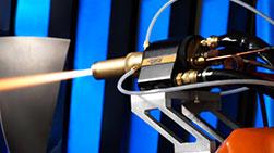 Model 8200 HVOF Gun