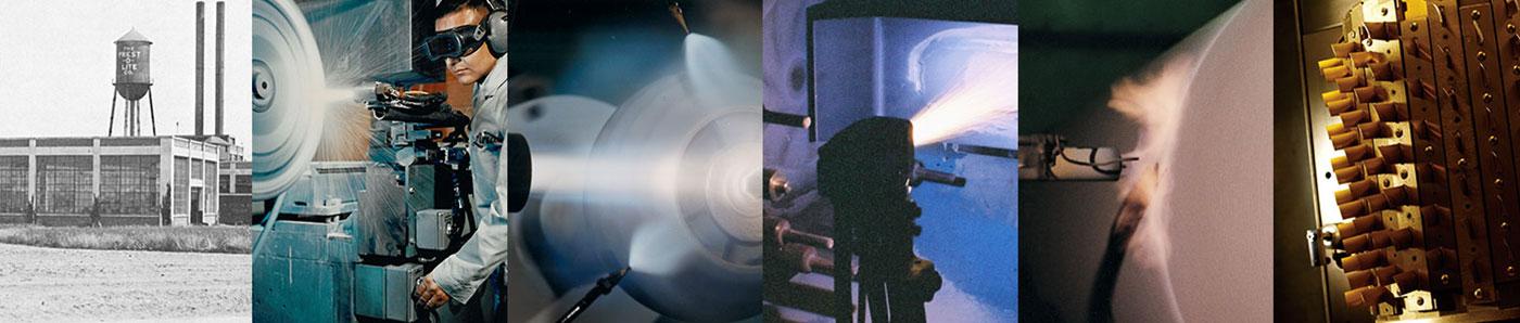 Praxair Surface Technologies History