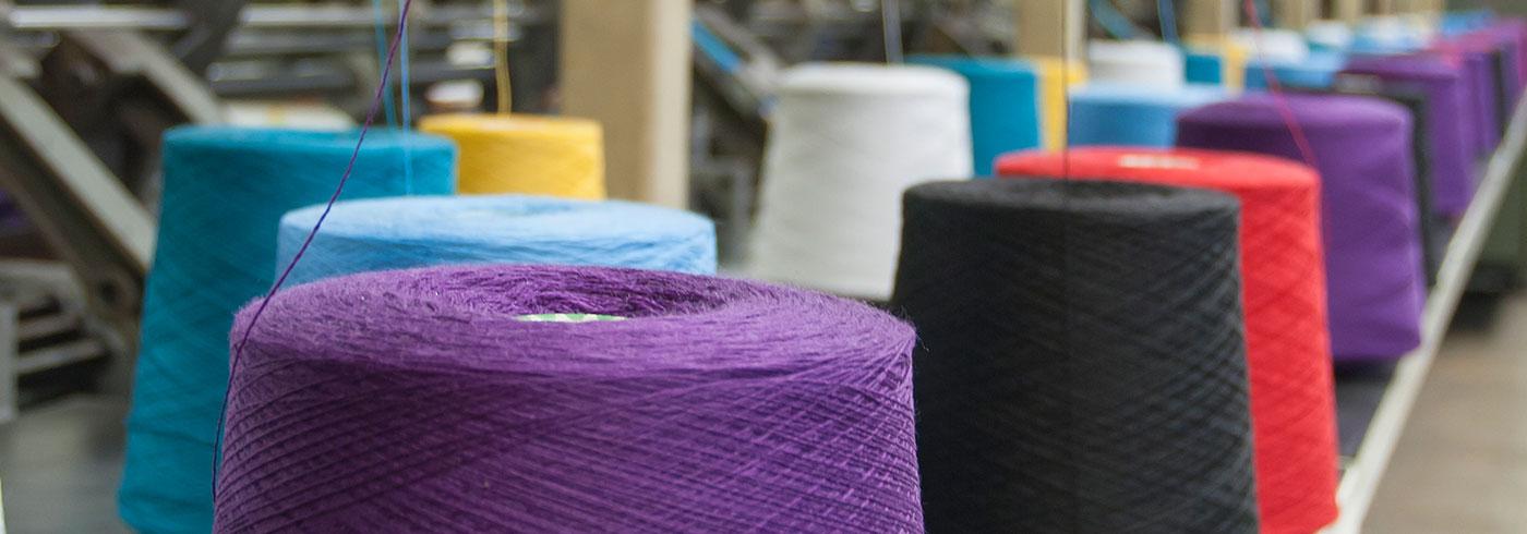 Textiles Industry Header