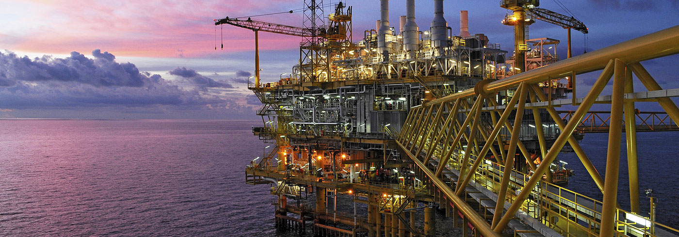 Oil and Gas Industry Header