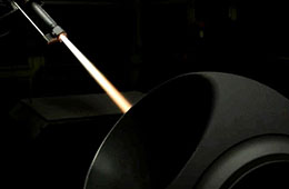 PST HVOF Coating Process for Oil & Gas Ball Valves